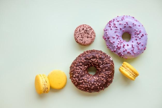 Macarons e prodotti da forno