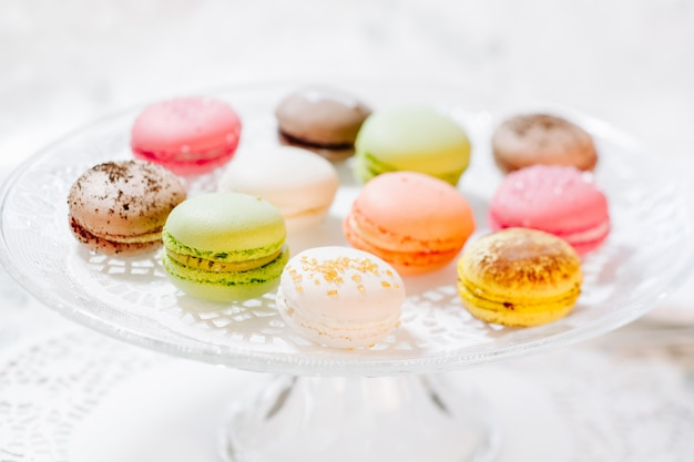 Macarons pasticcini francesi