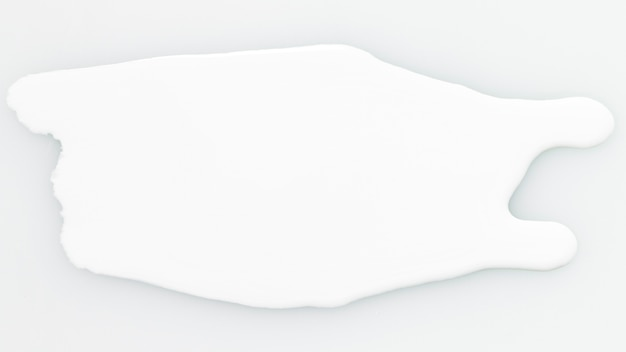 Macchia bianca di struttura oleosa della vernice