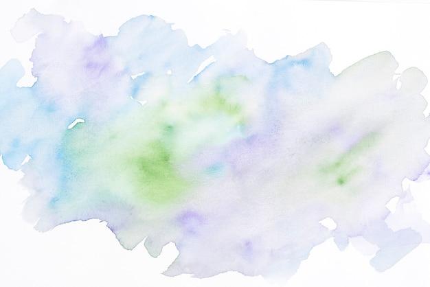 Macchia dell'acquerello con texture di sfondo