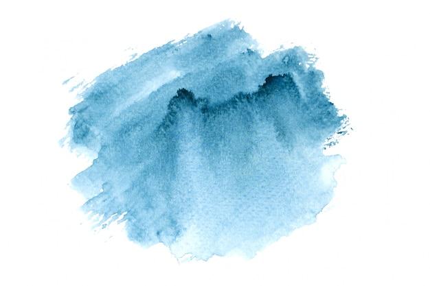 Macchia marina acquerello con sfumature di colore dipingere sfondo