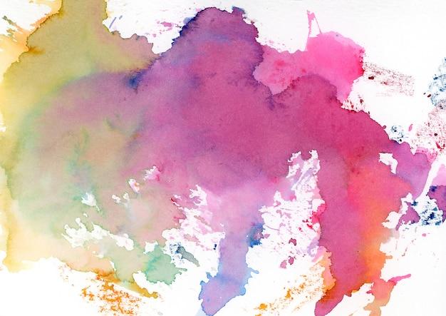 Macchie di acquerello multicolor