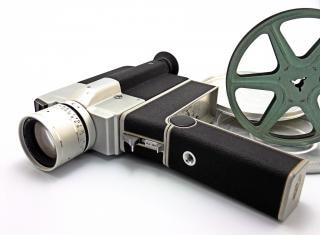 Macchina fotografica d'epoca, la macchina fotografica