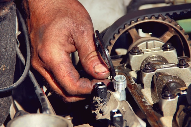 Macchina per la riparazione delle mani