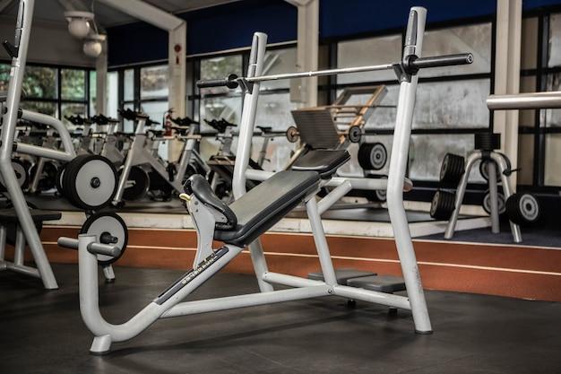 Macchine per esercizi in palestra
