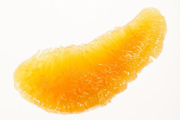Macro di frutta pomelo