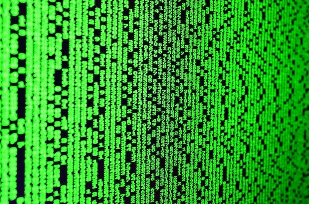 Macro di selezione della password sul monitor del computer dell'ufficio