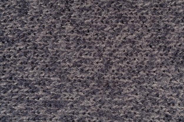 Macro di tessuto di lana trama