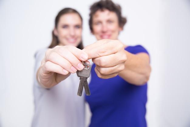 Madre casa di famiglia in movimento l'accessibilità