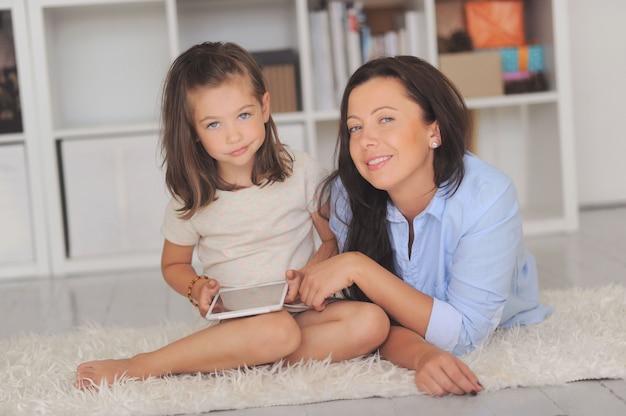 Madre con figlia