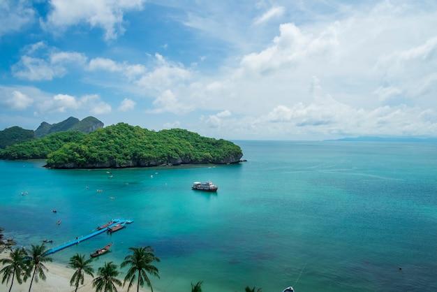 Mae koh island, tailandia