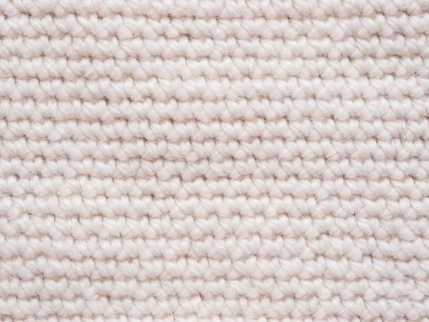 Maglia a maglia di colore chiaro come sfondo