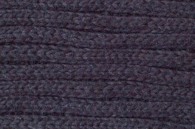 Maglione o sciarpa tessitura grande tessuto a maglia di fondo