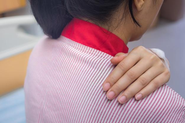 Mal di schiena del paziente