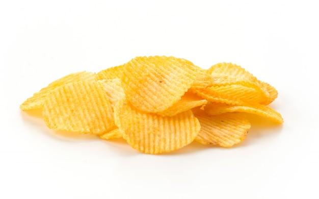 Malsano grassi dieta mucchio croccante