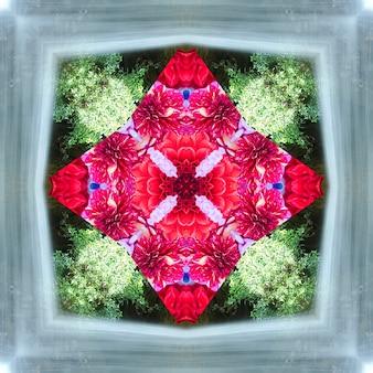Mandala, caleidoscopio, design pattern astratto