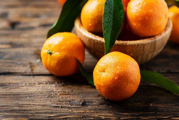 Mandarini dolci freschi