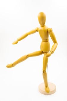 Manichino classico con diverse posture