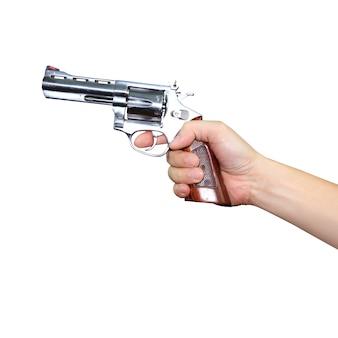 Mano che tiene una pistola