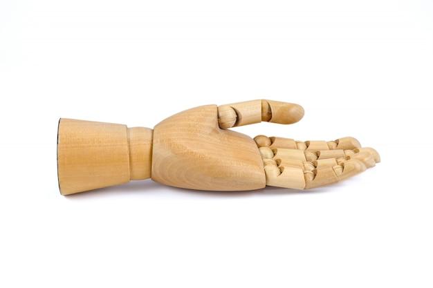 Mano di legno