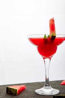 Margarita cocktail all'anguria