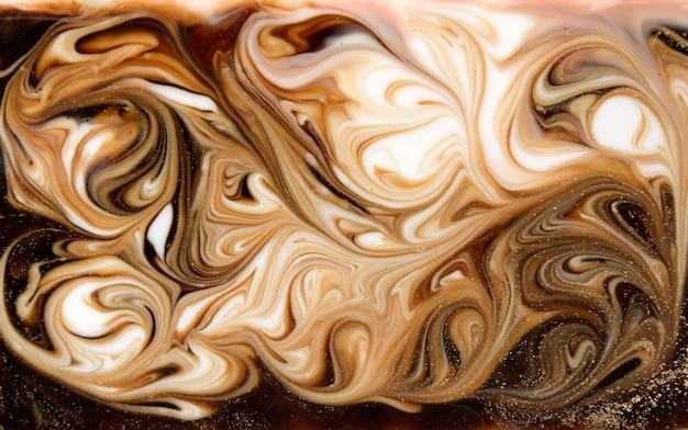 Marmorizzazione beige. trama liquida marmo dorato.
