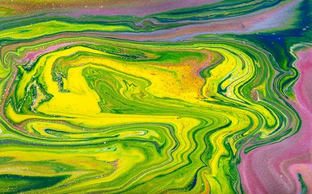 Marmorizzazione gialla e oro, trama liquida marmo dorato.
