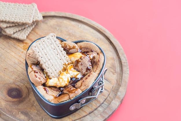 Marshmallow al cioccolato per immersione
