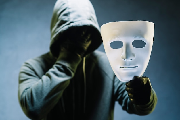 Maschera di detenzione hacker
