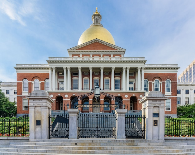Massachusetts state house a boston