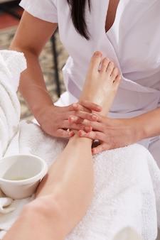 Massaggio tailandese al wellness club