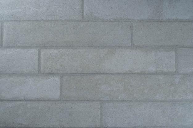 Mattone di pietra chiara. muro, pavimento. spazio negativo, copyspace vista dall'alto