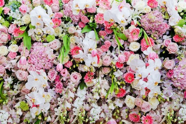 Mazzo di fiori bellissimi colori