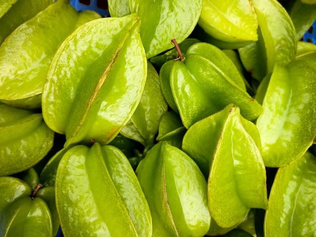 Mazzo di frutti di bosco aerea