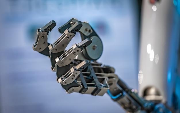 Meccanismo della mano robotica