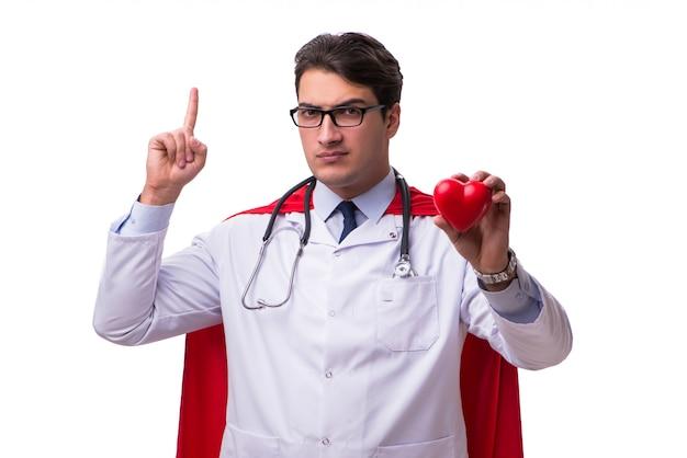 Medico dell'eroe eccellente isolato
