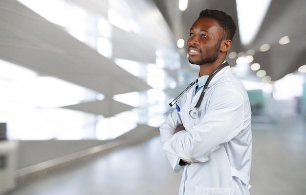 Medico nero afro-americano