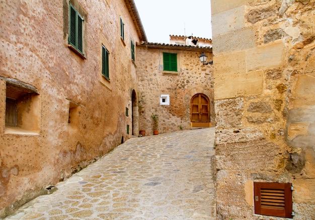 Medievale valldemosa tradizionale villaggio di maiorca
