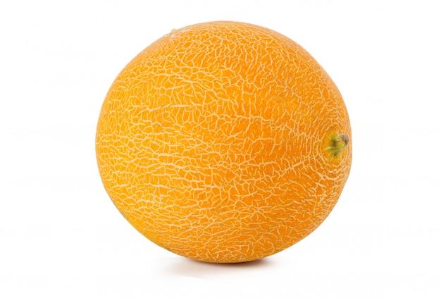 Melone isolato su bianco