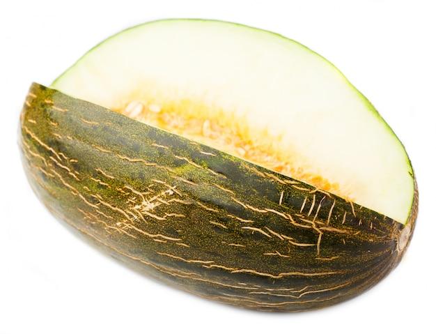 Melone senza un pezzo