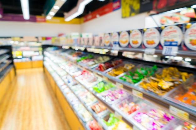 Mensole del supermercato