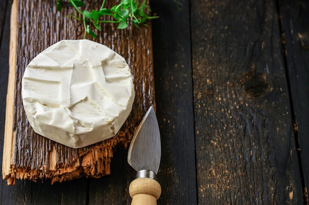 Menu cheese camembert o brie