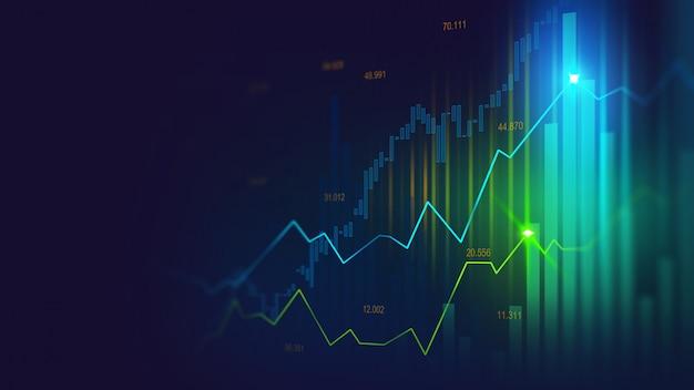 Mercato azionario o forex grafico commerciale