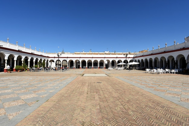 Mercato, città vecchia di carmona, provincia di siviglia, andalusia, spagna