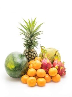 Mescolare frutta isolata