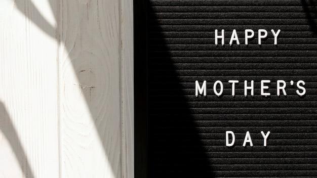 Messaggio di copia-spazio per la festa della mamma