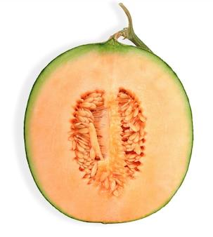 Mezzo melone isolato