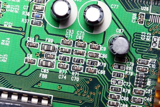 Micro circuito del computer