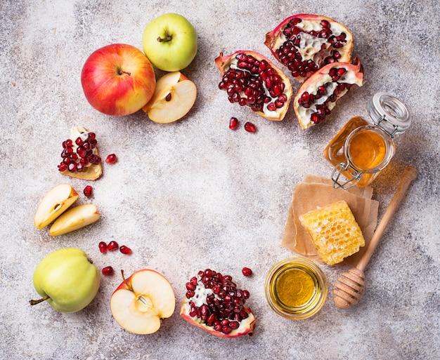 Miele, mela e melograno per rosh hashana