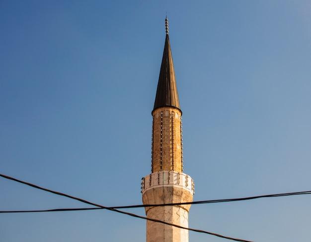 Minareto della moschea gazi husrev-bey, sarajevo